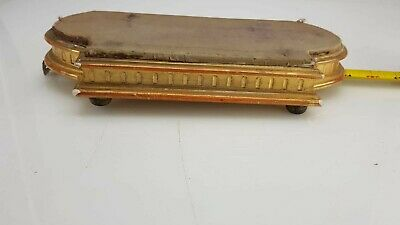 ANTIQUE FRENCH GILT WOOD CLOCK BASE FOR ANTIQUE CLOCK ORMOLU CLOCK c1860