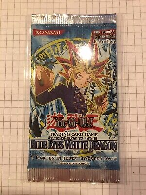 Yu-Gi-Oh Legend of the Blue Eyes White Dragon LOB 1. Auflage Booster Deutsch