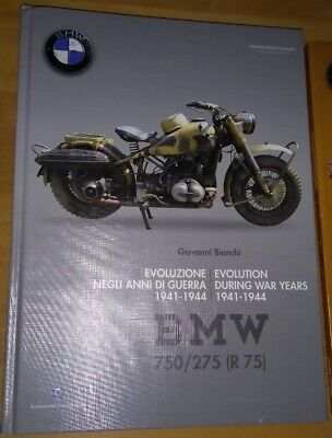 BMW R75 WH 750/275 Book1 1941-1944 Giovanni Bianchi WWII Germany KS750 KDF VW82