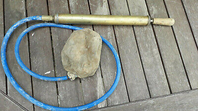 Brass Pump and Inflatable Canvas Air Bag