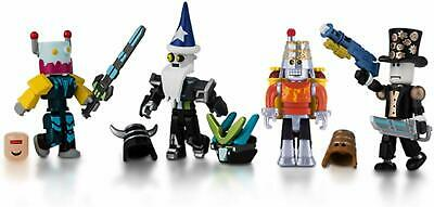 ROBLOX Robot Riot Mix & Match Set - 4 FUN Action Figures And Accessories Age 6+