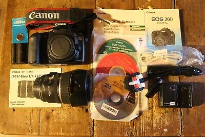 Canon Eos 20D With Canon Efs 17-85Mm Usm Is Lens