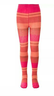 Oilily Tights Marcassin Maillot Multicolour stripe pink Size 140 Age 10 NEW