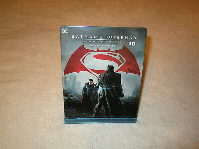Batman V Superman [Blu-ray 3D & 2D Steelbook - HDZETA]