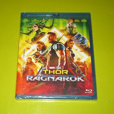 Blu-Ray.- Thor Ragnarok - Marvel - Chris Hemsworth - Precintada