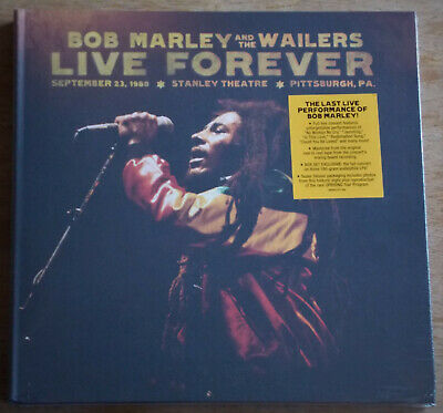 Bob Marley & the Wailers Live Forever 3LP + 2CD Rare Super Deluxe Box Set New