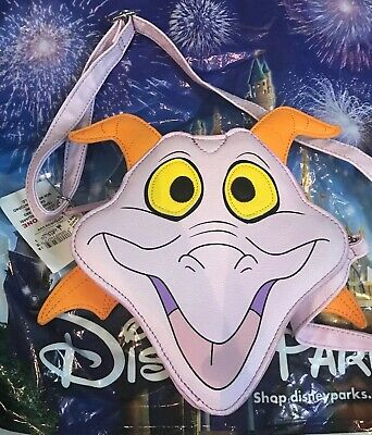 Disney Parks Epcot Figment Crossbody Bag New But Small Flaws