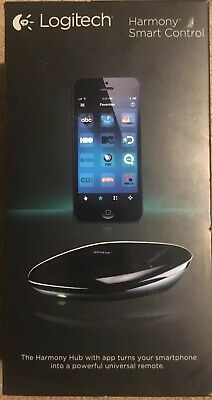 Logitech Harmony Smart Control 915-000194 with Smartphone App All in One Remote