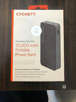 cygnett power bank 20000mah