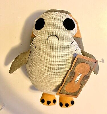 Star Wars Galaxys Edge Porg Cute Plush Doll Toydarian Toymaker Disneyland Disney