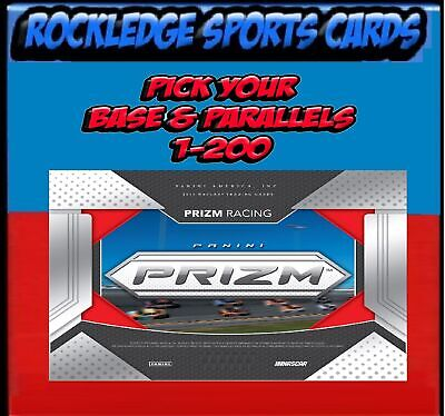 2019 Panini Prizm Racing Singles & Parallels (Pick Your Cards)