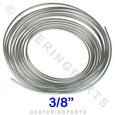 "10m roll 3/8"" ALUMINIUM GAS TUBING PILOT BURNER TUBE COMMERCIAL OVEN COOKER PIPE"