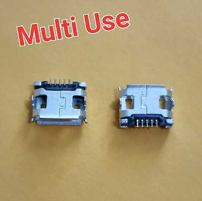 5Pcs Micro USB Type B Female 5 Pin SMT Socket Jack Connector usb conector 5 pin
