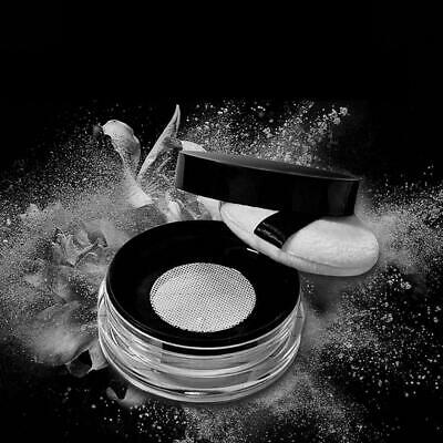 15g Empty Cosmetic Sifter Loose Powder Jar Container Makeup Box Travel Puff S9Q5