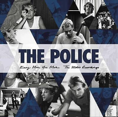 THE POLICE 'EVERY MOVE YOU MAKE : THE STUDIO RECORDINGS' 6 CD Set (2019)