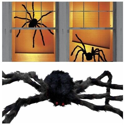 75CM Big Giant-Spider Halloween Haunted House Props Outdoor Party Decor Gift