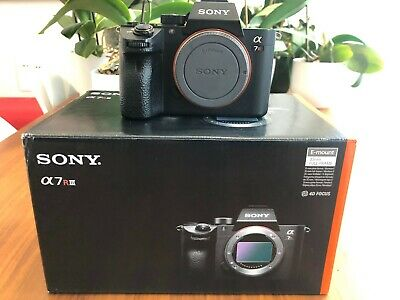 Sony Alpha α7R III - 42.4 MP Digital Camera - Body Only **BOXED & EXTRAS