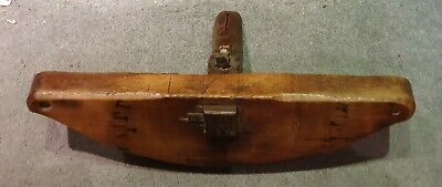 Antique Vintage Oak Coopers Kerfing Saw Woodworking Barrel Tools