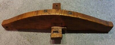 Antique Vintage Oak Coopers Kerfing Saw Woodworking Barrel Tools (1)