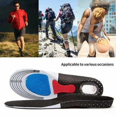 HOT Free Size Orthotic Arch Support Shoes Pad Running Gel Insoles Insert Cushion