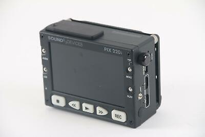 Sound Devices PIX-220i Portable Video Recorder- No Power Supply