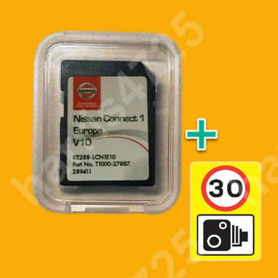 2019 2020 V8 Nissan Connect 1 Sd Card Europe Maps Karte Lcn1 Navi Speed Camera