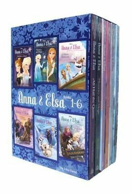 Disney Frozen Anna & Elsa 6 Books Set Collection By Erica David (Books 1-6)