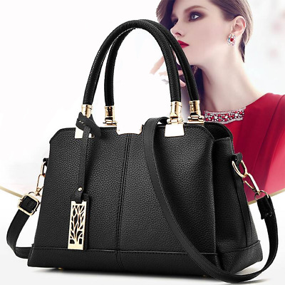 Women Faux Leather Handbag Shoulder Ladie Messenger Crossbody Tote Bags Purse