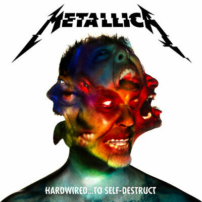 Metallica - Hardwired To Self Destruct (3 Disc, Deluxe Edition) CD NEW