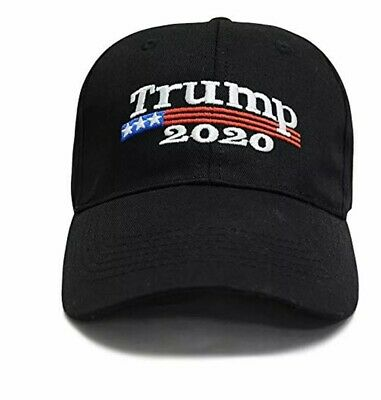 Trump 2020 Keep Make America Great Again Cap Embroidered Hat Black