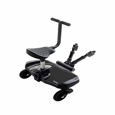 Bumprider Sit Toddler Board with Seat Attachment Black