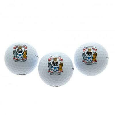 Coventry City F.C. Golf Balls Official Merchandise