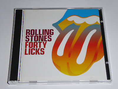 The Rolling Stones - 40 Licks: Very Best Of 2x CD ALBUM Greatest Hits Collection