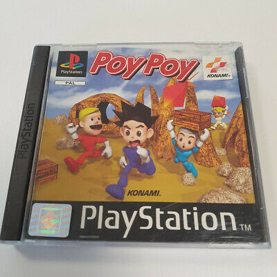 Poy Poy - PS1 - Complete, Boxed, Rare Game, Mint Condition!