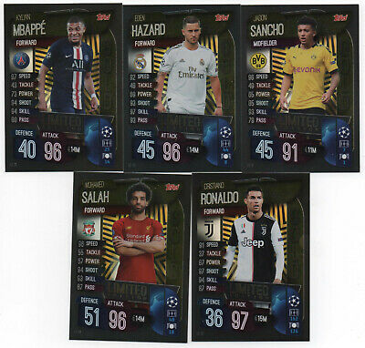 Topps Match Attax Champions League 2019/20 - Limited Edition zum Aussuchen