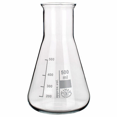 Simax Conical Flask Wide Neck 1000ml Pack of 10
