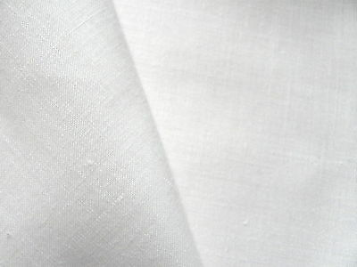 White fine Zweigart Normandie Linen mix 90 x 50 cm fabric surface embroidery