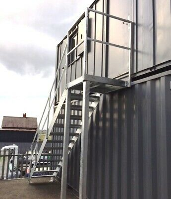 2.8m high (1000) | Domestic staircase | workshop staircase | Mezzanine staircase