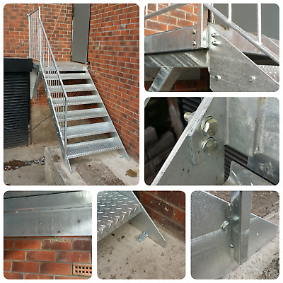 3m high (1000) | Domestic staircase | workshop staircase | Mezzanine staircase |
