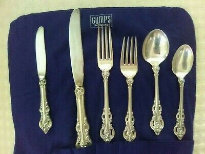 EL GRANDEE by Towle Sterling Silver Flatware Set For 8 ..45 Pieces
