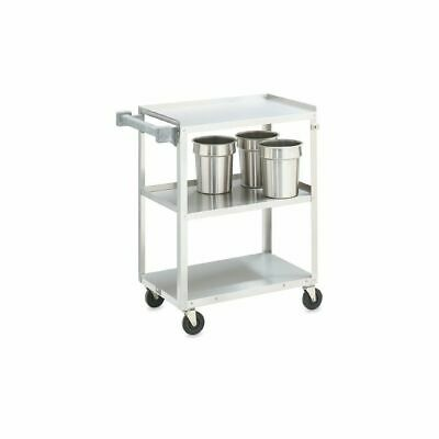 Vollrath 97120 S/S Medium Duty 3-Shelf Utility Cart