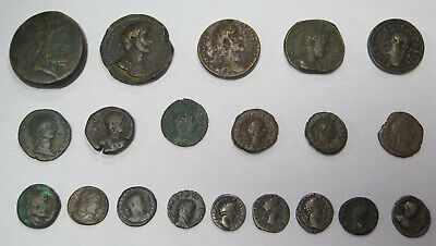 Ancient Roman Coin Lot of 20 Coins