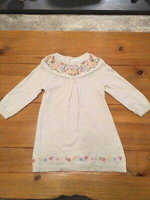 Monsoon Girls Jumper Dress 12-18 Months