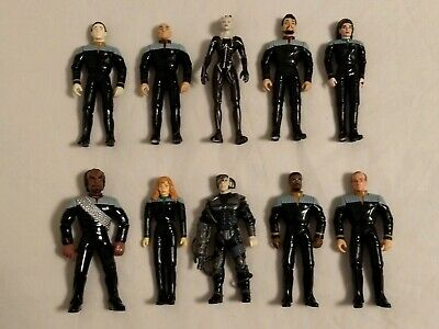 "STAR TREK Target Starfleet Command Exclusive 5"" Figures(8+ 2 Customized) Set!"