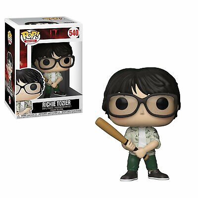 Funko Pop Movies: IT-Richie with Bat Collectible Figure, Multicolor