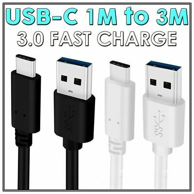 Type C USB Sync Charger Cable FAST Charging for Samsung Galaxy S9 S8 S10 5G Plus