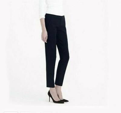 J. Crew Navy Tollegno 1900 Favorite Fit Trouser Italian Wool Ankle Pant 6