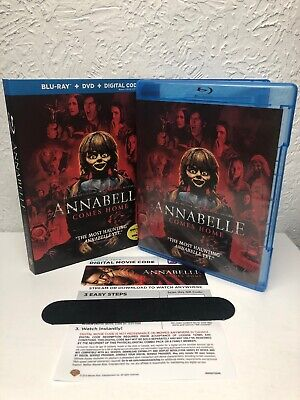 Annabelle Comes Home 2019 Blu Ray + Digital HD (NO DVD INCLUDED) Please Read