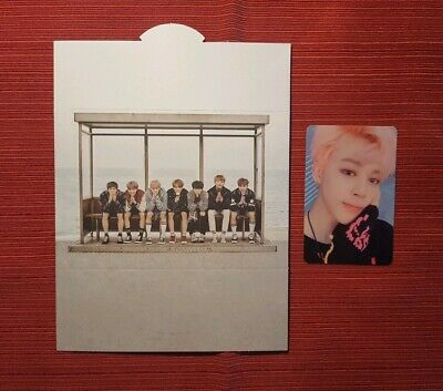 BTS Jimin Bangtan Boys You Never Walk Alone Official Photocard AND Standee 🇺🇸