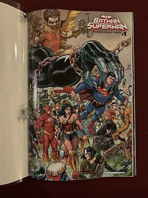 2019 DC Year Of The Villian Batman Superman Acetate Variant Cover NYCC